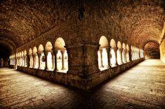 Claustro del Monasterio de Sant Cugat by Jose Luis Mieza Photography , via Flickr