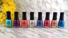 Ceramic Glaze Botanical Oasis Collection - Review and Swatches #myCGnails
