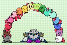 Look, it's a Kirbow! Lol Meta Knight XD