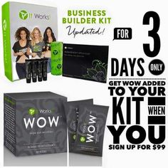 ‼BIG #NEWS‼ You don't want to miss this deal!! ☝Starting NOW through Thursday at midnight ☀ Join my team and get a #FREE box our newest #HOT  product WOW  (that's 30 samples of that crazy cream that wipes out #wrinkles in 90 sec⁉⁉ included for FREE) Two smart ladies did today....now it is YOUR TURN!!!  Your very own business❗️❗️ Wrapswithe.com / 9549180046