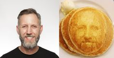 The Next Generation of Pancake Art Uses Facial Recognition Software   The Creators Project