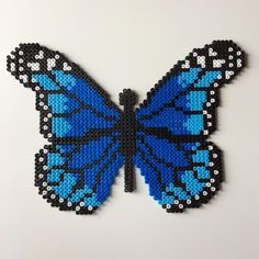 Butterfly hama beads by _the_creative_girls_