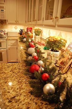 Pottery Barn Inspired Garland Tutorial-Make Your Own! christmas-is-food-decorations-crafts