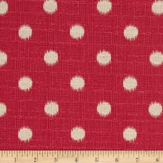 Premier Prints Ikat Dots Nina Pink/Birch Item Number: UP-433 Our Price: $12.98 per Yard