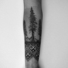 #trees #dotwork #blackwork #2spirittattoo