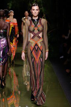 Balmain | Paris Fashion Week | Spring 2017 Model: Irina Djuranovic