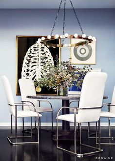 Jessica Alba's Guest House Dining Room