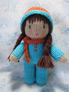The cutest knit doll ever!