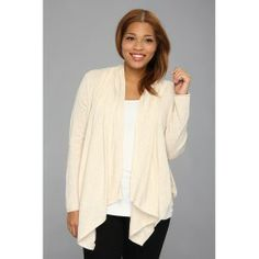 Cheap DKNY Jeans - Plus Size Drapey Sweater Cardigan (Oatmeal Heather) - Apparel price - Zappos is proud to offer the DKNY Jeans - Plus Size Drapey Sweater Cardigan (Oatmeal Heather) - Apparel: Wrap yourself in warmth in this divine DKNY Jeans sweater.