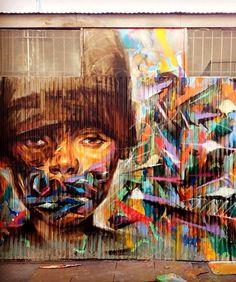 Sam Rodriguez street art #streetart