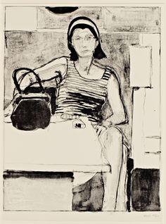 Diebenkorn, Print: Lithograph untitled
