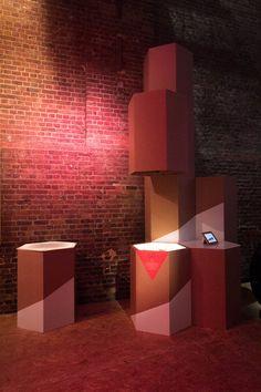 Interior architecture | 3-D + Spatial design | Sculptural installation | LONDON + Cornwall | UK — Nike Lab | Installation
