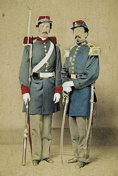 Washington Artillery New Orleans- enlisted the Elite of the city.