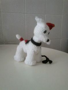 Amigurumi fox terrier