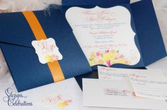 Vintage Roses Wedding Invitations by SDezigns- I dnt like the roses but the general shapes.