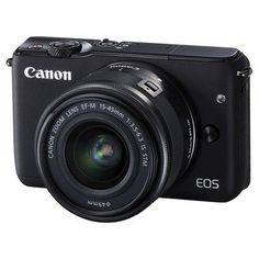 Canon Eos M10 15-45mm Camera - Black (0584C011)