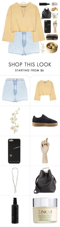 """""""TAKE MY HAND AND LET'S GET OUT OF HERE"""" by constellation-s ❤ liked on Polyvore featuring River Island, adidas Originals, Pier 1 Imports, Puma, HAY, Forever 21, 3.1 Phillip Lim, St. Tropez, Clinique and DOWNLITE"""