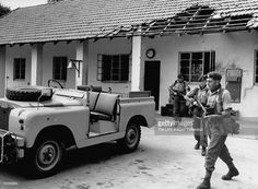 News Photo : Commandos clearing out Tanga Rifles Armory after...