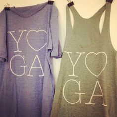 Yoga Tees and Tanks by shopELL on Etsy, $25.00
