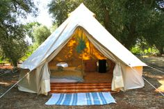 DIY Glamping.  Mommy/Daughter camping trips with L is older?