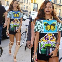 She's been travelling the world for her sell out Diamonds tour and in between shows, party girl Rihanna has been out and about the world's most fabulous destinations wearing the most fabulous outfits. http://sulia.com/my_thoughts/86527c4f1df1a1db8a5ae6fe092e7058/?pinner=58049091
