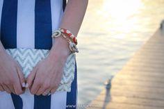 Summer 2013   Tuckernuck. Chevron clutch. Shell bracelet. Pave link bracelet. Seaside style. Docks.