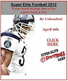 Super-Elite Football Camp April 6th