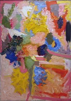 John Ferren, Untitled, 1961 Oil on canvas, 44 x 31 inches