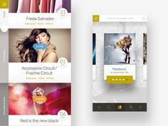 app design for boutique.  by Rit