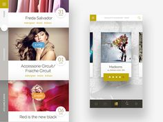 app design for boutique.  by Rit