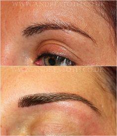 Hair Stroke Eyebrows Semi Permanent Makeup