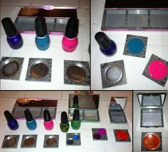 Great idea to do for Elsa...Pretend make-up!!!