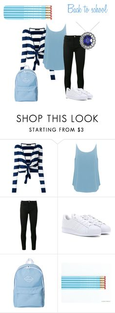 """""""Back to school"""" by heal838 ❤ liked on Polyvore featuring Dolce&Gabbana, BA&SH, Gucci, adidas and Allurez"""