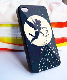 Tinkerbell Moon iPhone 5 5s 5c iPhone 4/4s case by BUGARYWOODS, $12.98