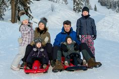 Danish Crown Prince Family in Verbier, Switzerland -MYROYALS  FASHİON