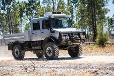 The Mercedes Benz Unimog is finally here on modified. Check out the Unimog in our Modified Trucks and watch the. Mercedes Benz Unimog, Mercedes Benz Trucks, Overland Truck, Expedition Vehicle, 4x4 Trucks, Ford Trucks, Weird Cars, Cool Cars, Pick Up