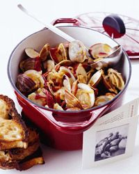 Portuguese Clam and Chorizo Stew