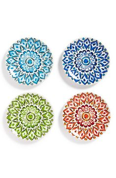 Signature Housewares 'Mandala' Plates (Set of 4) | Nordstrom