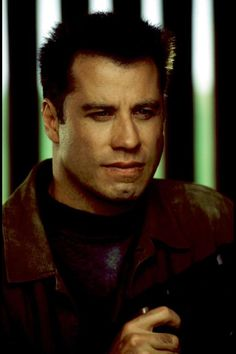 John Travolta for the hero or villain.