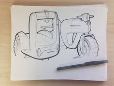 drawings and sketches Illustration Sketches, Drawing Sketches, Sketching, Industrial Design Sketch, Pretty Drawings, Color Crafts, Hand Sketch, Transportation Design, Concept Art