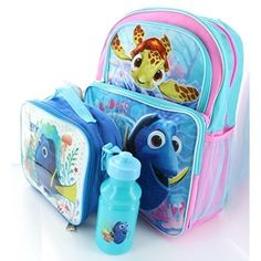 Beautiful Back to School Finding Dory! #Backtoschool #School #Backpack #Schoolbag #FindingDory #Kids #Gift