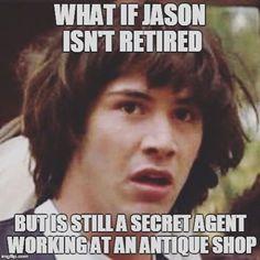⭐️Credit: Belle⭐️ #JasonWhittaker #AIOmemes