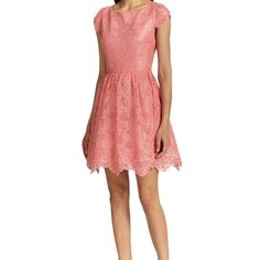 b486fc2db61 alice olivia Zenden Scalloped Lace Open Back Cocktail Dress  gt  gt  gt   Continue