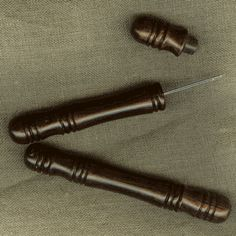 Rosewood needle case from Wm. Booth Draper.  $7.00