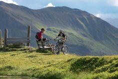 Mountainbiken in Saalbach Hinterglemm im Salzburger Land