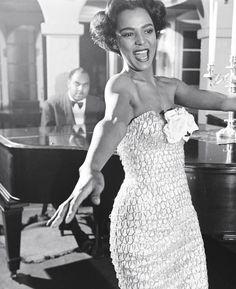 Dorothy Dandridge photoraphed by Ed Clark, 1951.