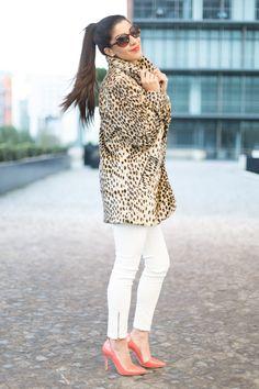 3.13 leo lover (ASOS leopard coat + Zara jeans + Alice & Olivia heels + Michael Kors watch + J Crew pave link bracelet) <<<blasfemmes