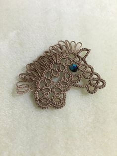 Hand Tatted Horse by BuckysBeauties on Etsy