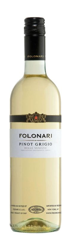 10 Italian Wines That Offer a True Taste of Italy: Folonari Pinot Grigio 2013 (Umbria, Italy) $10