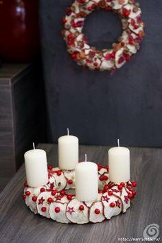 Idéias bonitas para a decoração feitos de materiais naturais (13) (466x700, 141Kb)